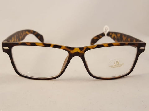 Retro Tortoise Shell Frame Glasses