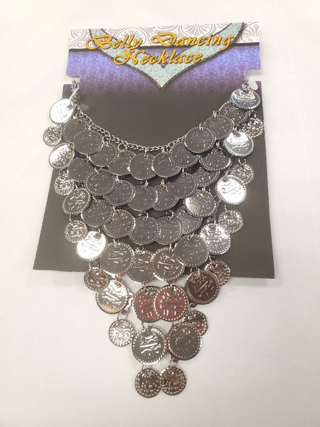Pewter Coin Necklace