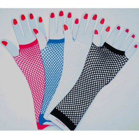 Fishnet Fingerless Gloves