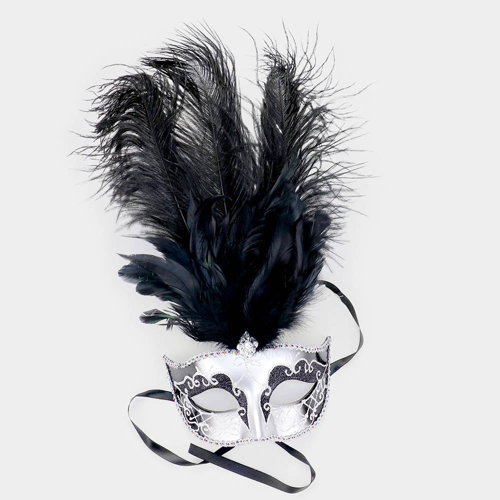 Carnival Feather Mask