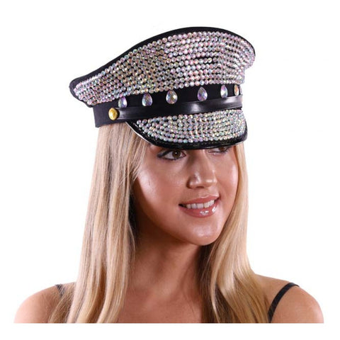 Chrystal Captain Hat