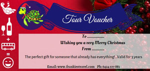 Gift Certificate  ~ $99 ~Vineyard Trails Less Travelled