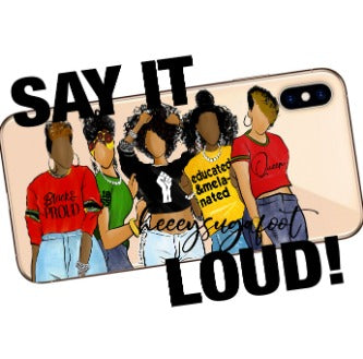 Black & Proud SUGA Phone Cases