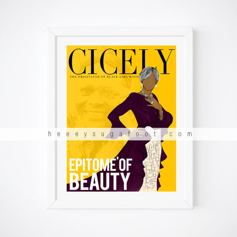 CICELY Epitome' Print