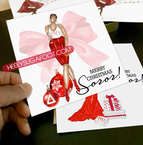 Merry Christmas SOROR Cards