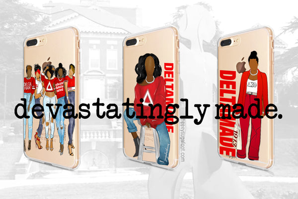 HBCU & Sorority SUGAS Phone Cases