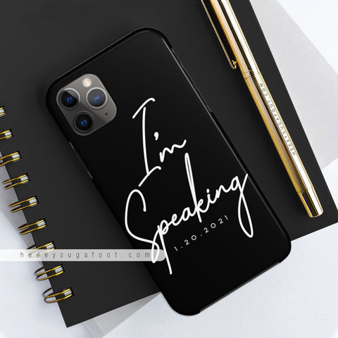 I'm Speaking MADAM VP Phone Cases