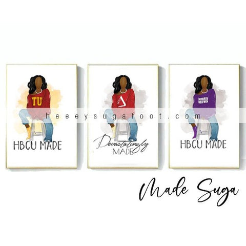 School & Sorority SUGA Prints SALE