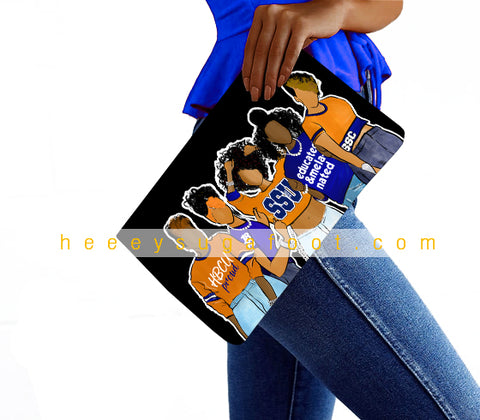 College & Sorority Sugas Clutch