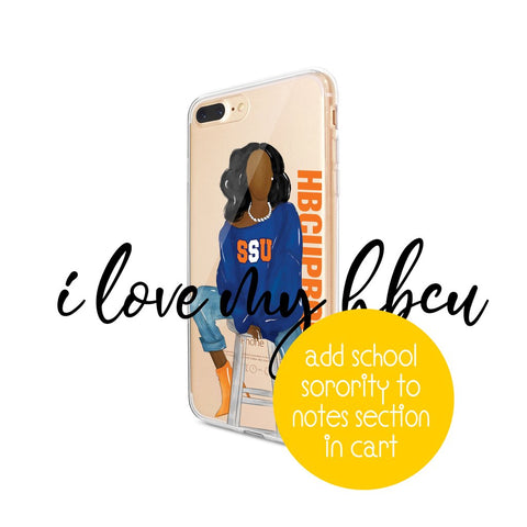 HBCU & Sorority Proud SUGA Phone Cases
