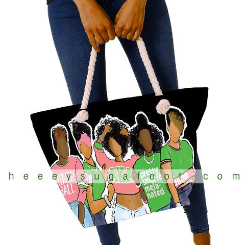 School & Sorority SUGAS Overnight Tote