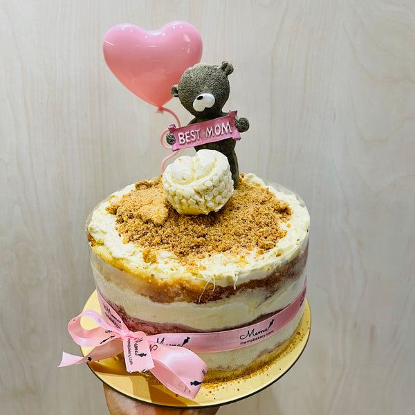 Mother's day Premium Ed: MSW Durian Fruit Mousse Crumble Cake