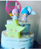 TWO TIER MSW CHARACTERS CAKE