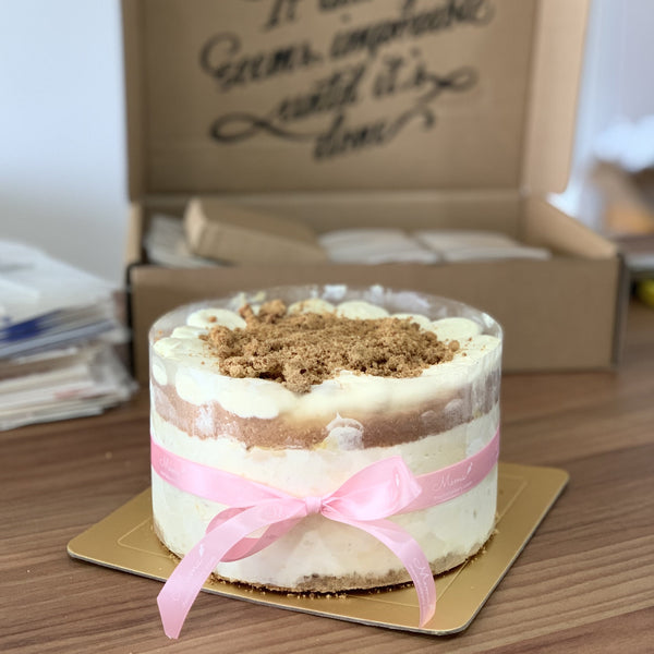 Premium Ed: MSW Durian Fruit Mousse Crumble Cake