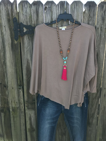 Dip Top Dark Taupe