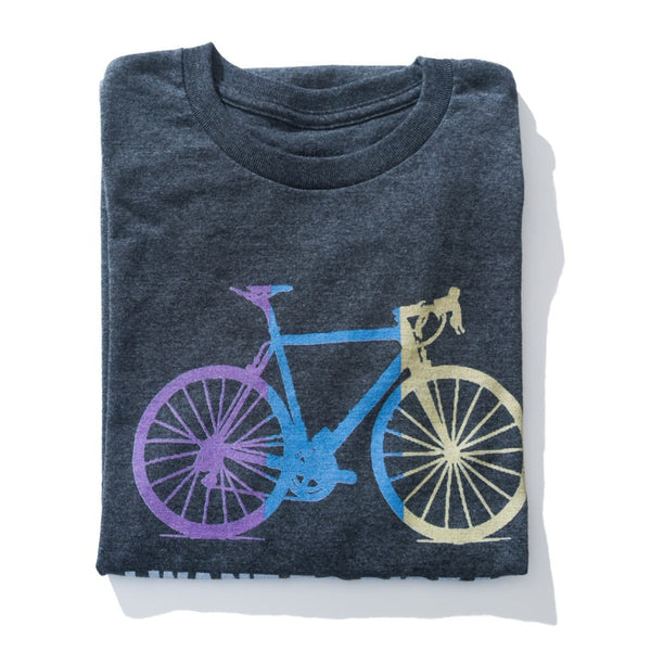 Camiseta Bicycle Cinza Escura