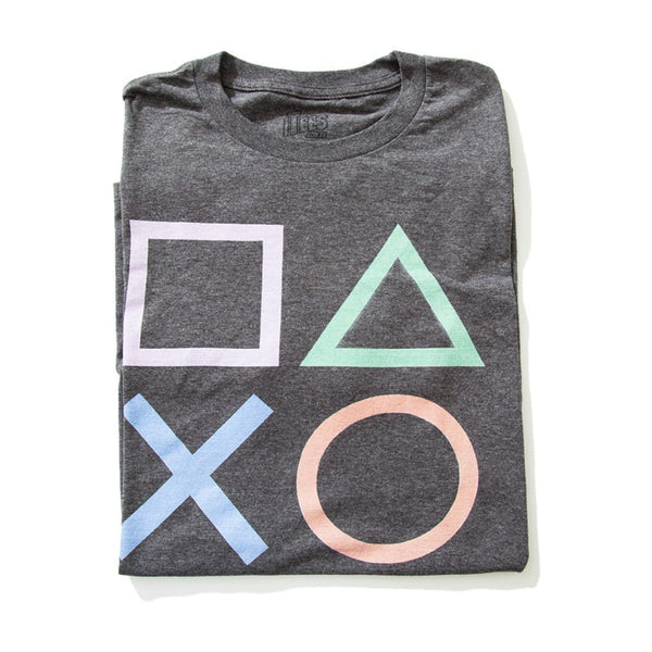 Camiseta Playstation Botoes