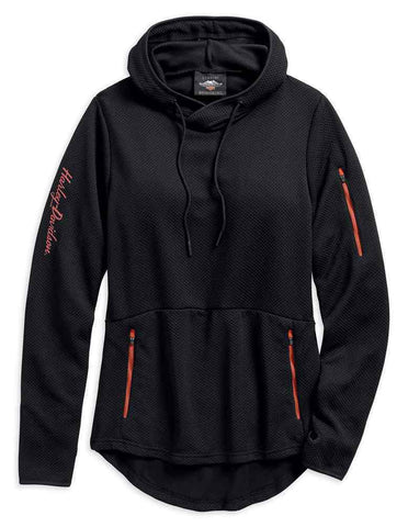 Harley-Davidson® Women's Performance Wicking Pullover Hoodie