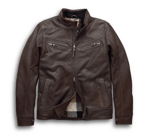 Harley-Davidson Men's Lawlen Jacket - Vintage Brown