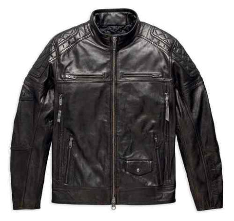Harley-Davidson® Men's Benson Leather Jacket.