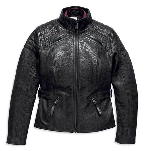 Harley-Davidson® Women's Beechwood Genuine Leather Riding Jacket