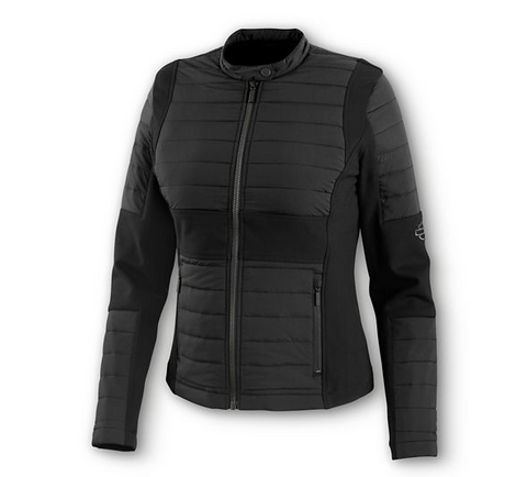 Harley-Davidson Women's Quilted Compression Knit Jacket