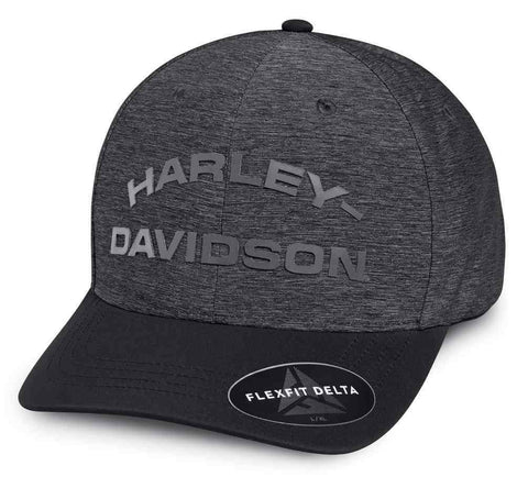 Harley-Davidson® Men's Tonal High Density Print Baseball Cap w/ Delta Technology.