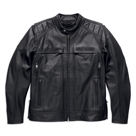 HARLEY-DAVIDSON SYNTHESIS POCKET SYSTEM MEN'S LEATHER JACKET