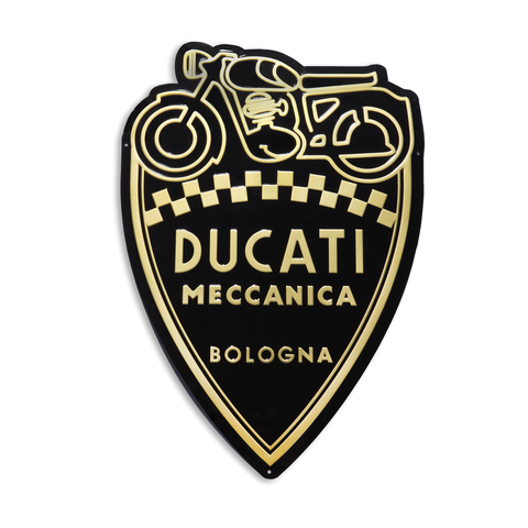 DUCATI METAL SIGN - MECCANICA