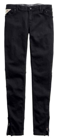 Harley-Davidson® Women's Black Label Core Skinny Zipper Mid-Rise Jeans