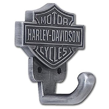 HARLEY-DAVIDSON® BAR & SHIELD HARDWARE HOOK HDL-10100