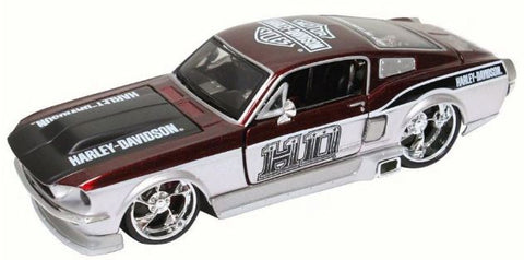 1967 Ford Mustang GT Hard Top with Harley-Davidson livery. 1:24 Scale