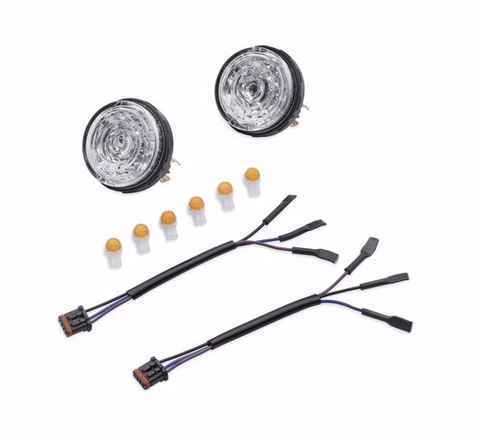 HARLEY-DAVIDSON® LED BULLET TURN SIGNAL INSERT KIT