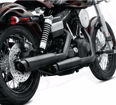 HARLEY-DAVIDSON® SCREAMIN' EAGLE STREET PERFORMANCE SLIP-ON SHORTY DUAL MUFFLERS