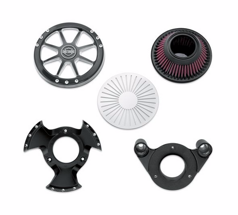 HARLEY-DAVIDSON® BURST PERFORMANCE AIR CLEANER KIT
