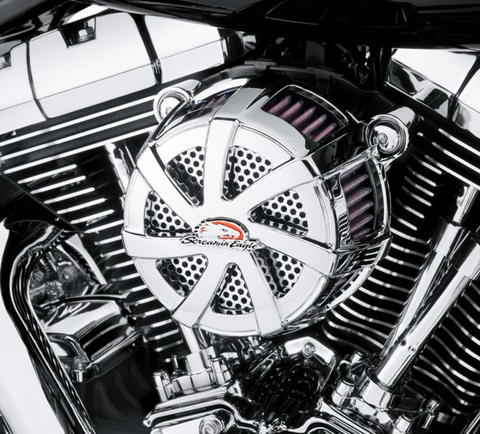 HARLEY-DAVIDSON® SCREAMIN' EAGLE AGITATOR EXTREME BILLET AIR CLEANER KIT