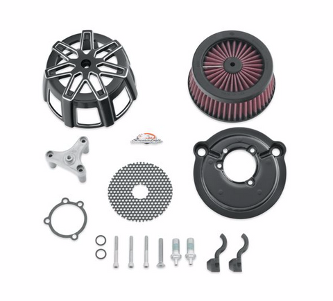 HARLEY-DAVIDSON® SCREAMIN' EAGLE CHISEL EXTREME BILLET AIR CLEANER KIT