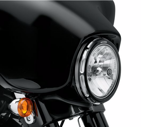 HARLEY-DAVIDSON® BURST HEADLAMP TRIM RING-61400149