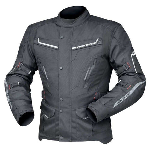 DRIRIDER APEX 5 MEN'S JACKET- BLACK/ BLACK