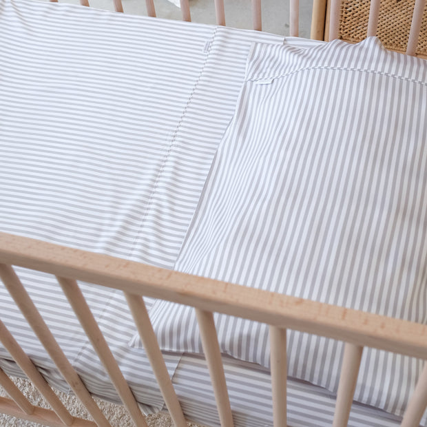Stripe baby pillowslip