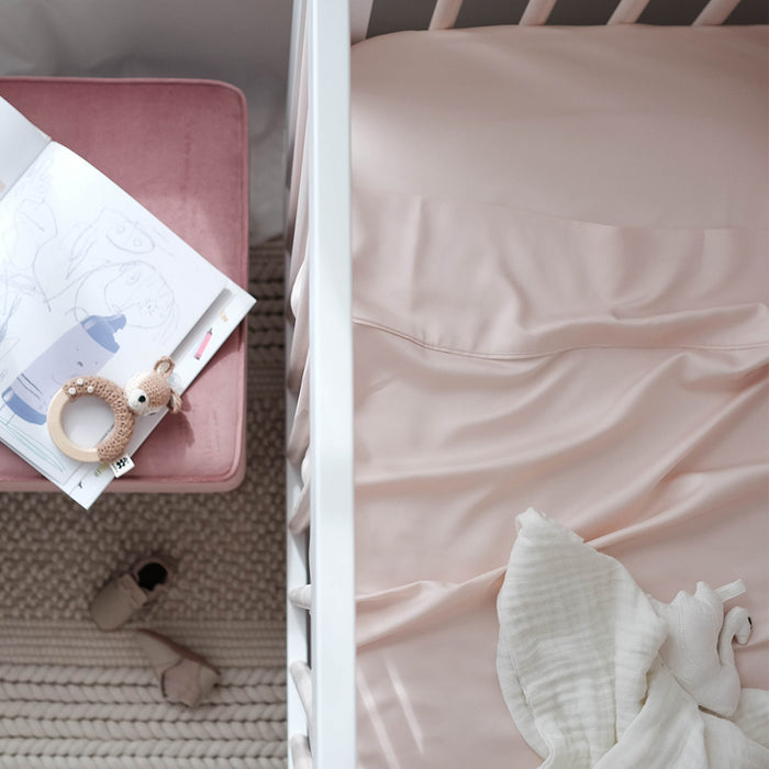 Bamboo Cot Sheets Buy Online Mulberry Threads Co