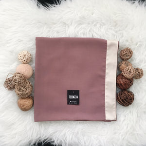 AVA SQUARE ROSE BROWN