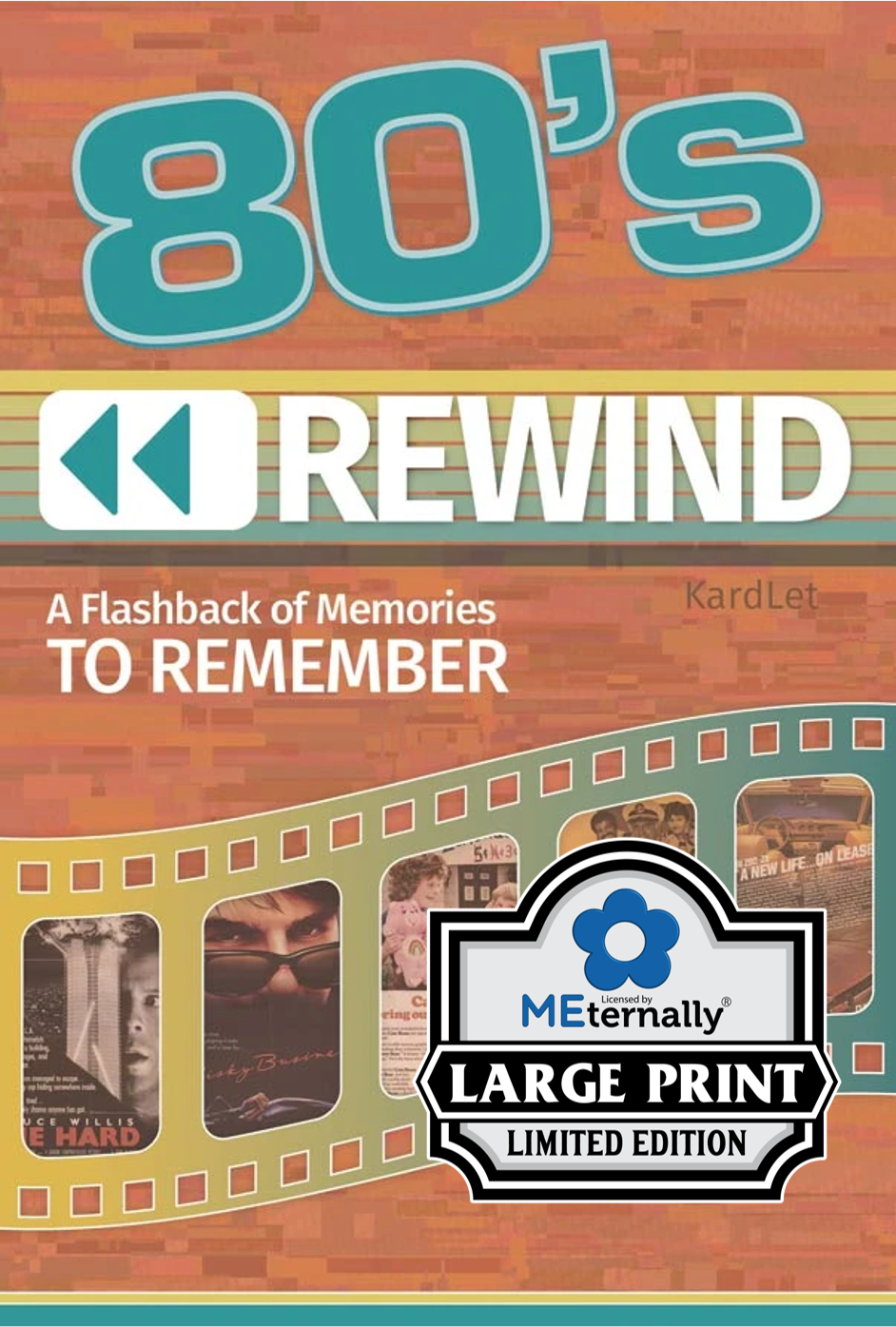 1980s Rewind Decade Kardlet - Preorder (Ships by Jan 30th)