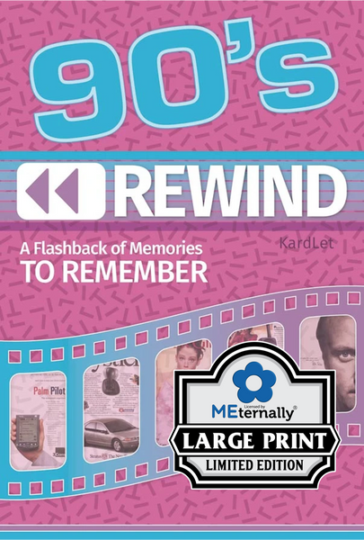 1980s/1990s/2000s Rewind Decade Kardlet Set - Preorder Only