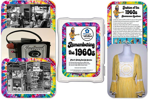 1960s Collection Photo/Activity Cards (Pre-order) Ships by Jan 31st
