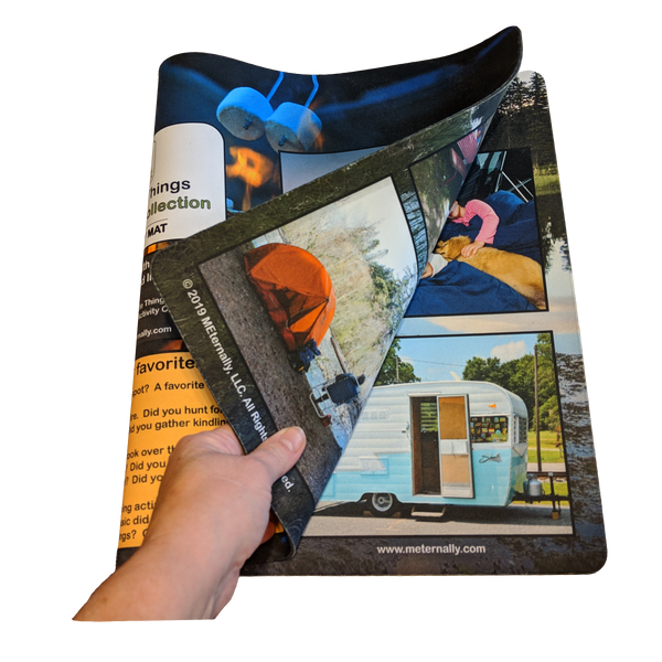 Reminiscence Therapy - 14 x 24 Great Outdoors Collection MEGA Memory Mat Set
