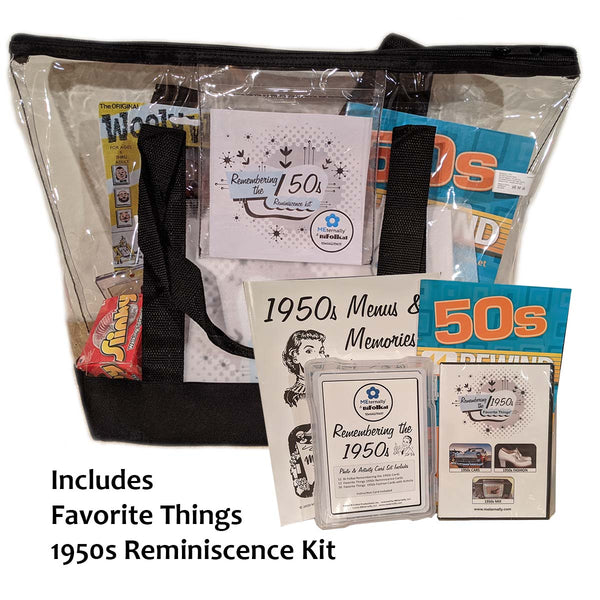 BiFolkal Remembering the 1950s Deluxe Kit (Includes the Favorite Things Reminiscence Kit)