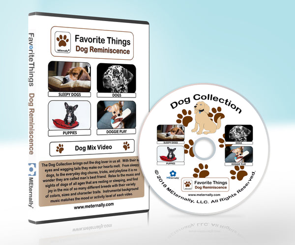 Library Pack - Reminiscence Therapy - Dogs DVD & Photo/Activity Cards Kit