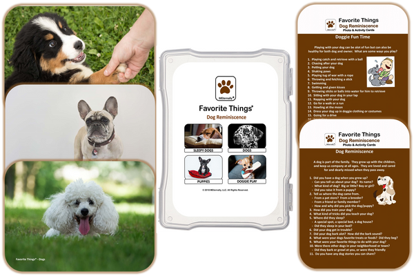 Reminiscence Therapy - Dog Collection Photo and Activity Cards