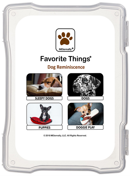 Library/Facility Zip Pack - Reminiscence Therapy - Dogs DVD & Photo/Activity Cards Kit